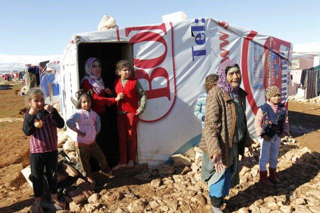 Dans la plaine de la Bekaa, dans l'est... (PHOTO MOHAMED AZAKIR, REUTERS)