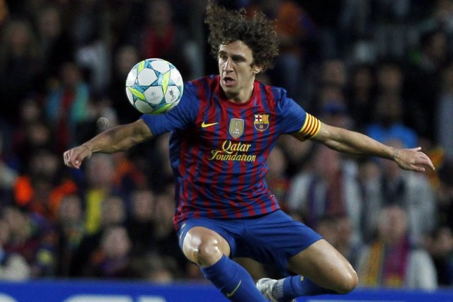 Carles Puyol.... (Photo: AP)