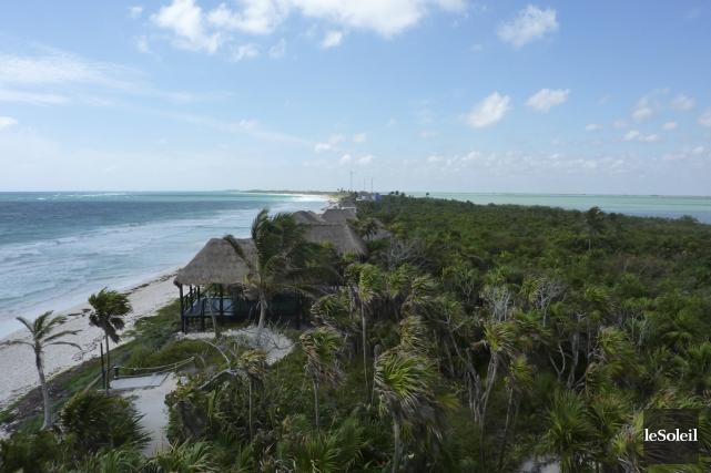Réserve Écologique de Sian Ka'an, au Yucatan.... (Photo: Pierre Gingras, La Presse)