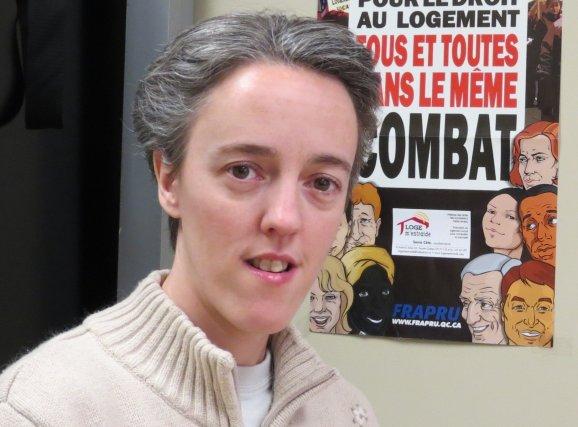 Sonia Côté, coordonnatrice de Loge m'entraide... (Photo courtoisie)