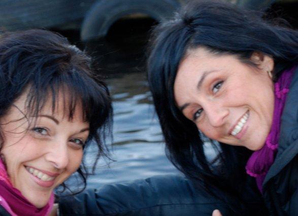 Les Almatoises Josée Plourde et Nadine Barbeau ont... (Photo courtoisie)