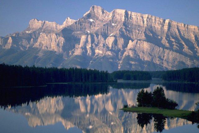 Le Two Jack Lake au parc national de... (Photo: PC)