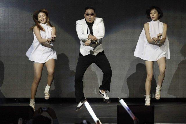 En décembre, le clip deGangnam Style, du chanteur... (PHOTO MARIO ANZUONI, REUTERS)