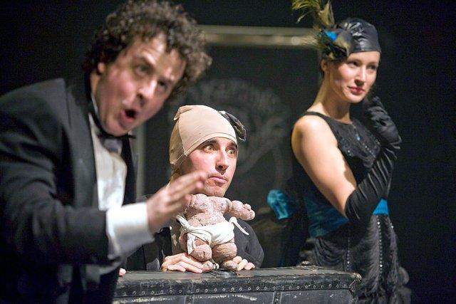 Le trio composé de Charles-Étienne Beaulne, Raphaël Posadas... (Le Soleil, Steve Deschênes)