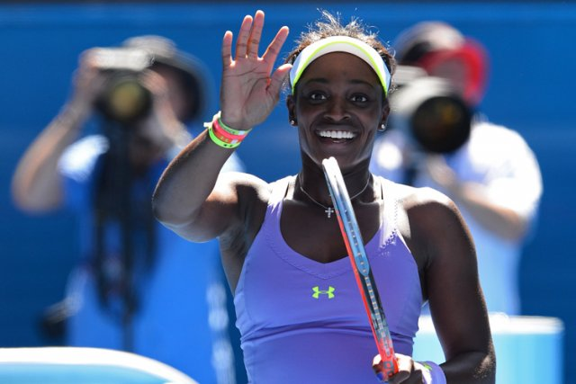 Sloane Stephens... (Photo: AFP)