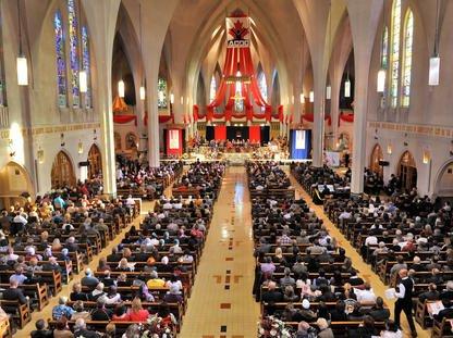 L'année 2013 commence en lion pour l'Archevêché de Sherbrooke qui, d'un coup,... (Archives La Tribune)