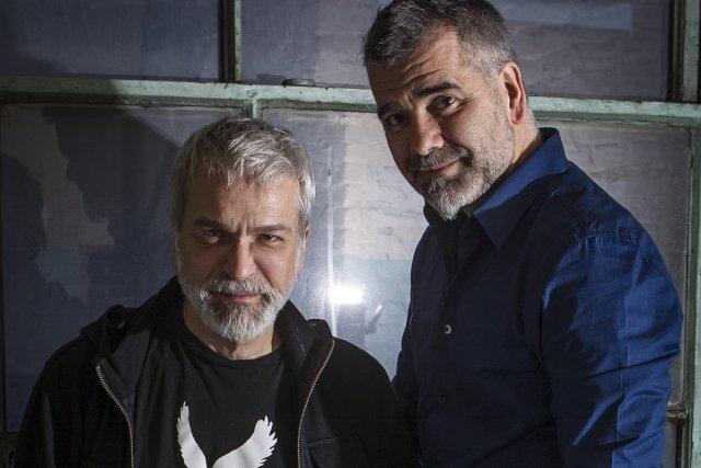 Michel Lemieux et Victor Pilon... (Photo: Olivier Pontbriand, La Presse)