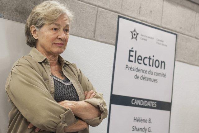 Le personnage d'Élise, incarné par Micheline Lanctôt, attire... (Photo: fournie par Radio-Canada)