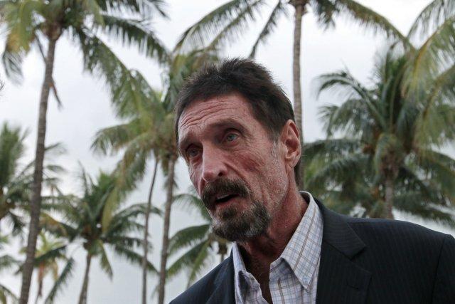 En décembre dernier, John McAfee s'est retrouvé au... (Photo: Reuters)