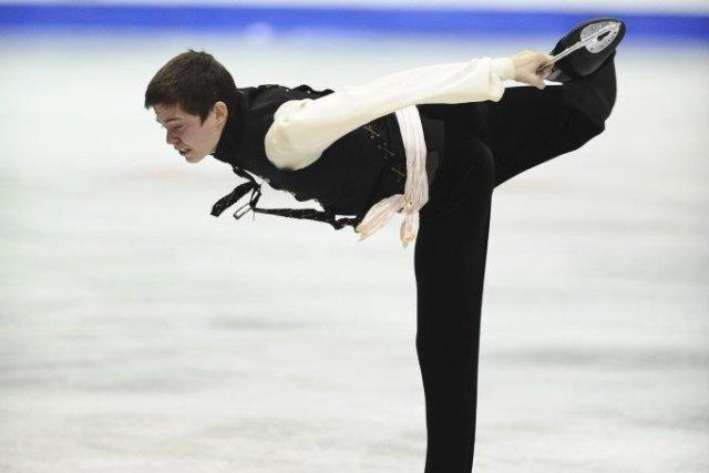 Daniel-Olivier Boulanger-Trottier au Championnats canadiens novices 2013 de... (Photo fournie par Skate Canada)