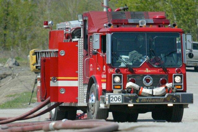 Les pompiers de Gatineau ont secouru au moins deux victimes d'une sortie de... (Archives, LeDroit)