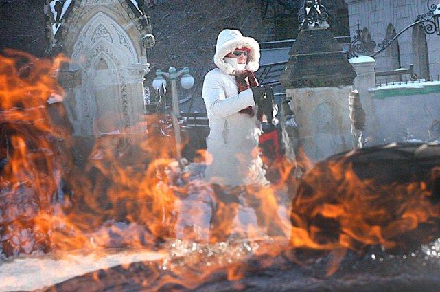 Le froid mordant qui sévit depuis quelques jours... (Étienne Ranger, Archives LeDroit)