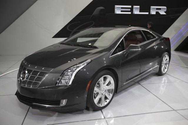 Cadillac ELR: D'ici la fin de l'année, la... (PHOTO AFP)