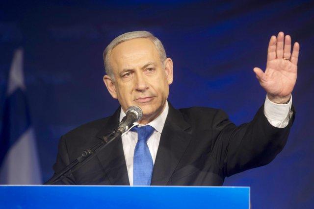 Bien que le premier ministre Nétahyanou ait été... (PHOTO MENAHEM KAHANA, AFP)