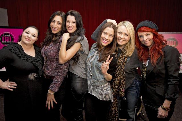 Nadja, Florence K, Stéphanie Bédard, DJ Abeille, Mitsou... (Photo: Alain Roberge, La Presse)