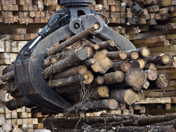 Jusqu'à tout récemment, les copeaux de bois produits... (Photo: archives)