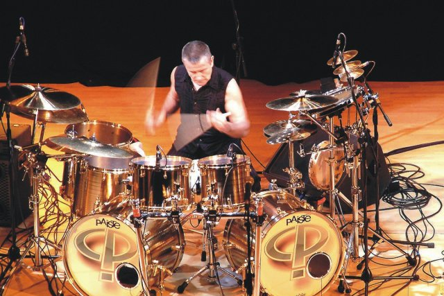 Carl Palmer... (Photo: fournie par Productions Bros inc.)