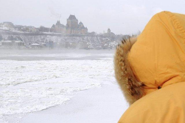 La vague de froid culmine mercredi, tout comme... (Le Soleil, Erick Labbé)