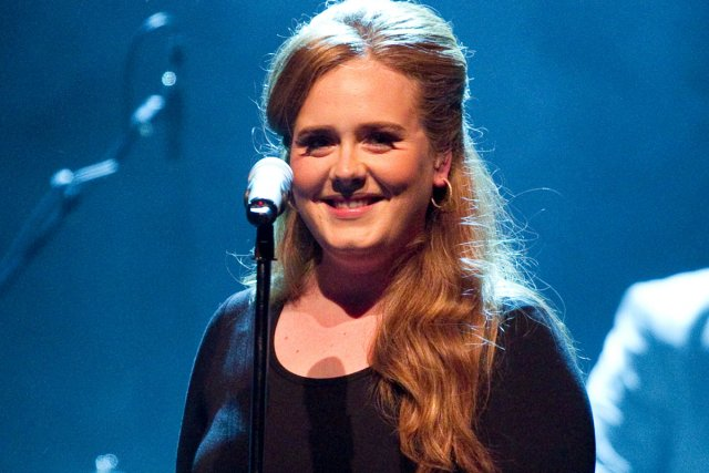 Adele lors d'un spectacle à Montréal en 2011.... (Photo: Hugo-Sébastien Aubert, archives La Presse)