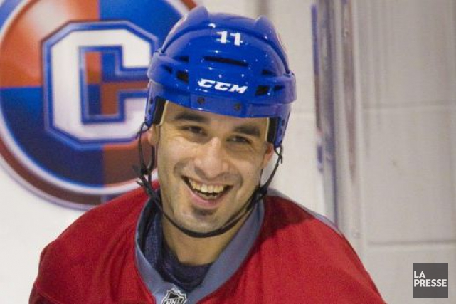 Scott Gomez... (Photo André Pichette, archives La Presse)