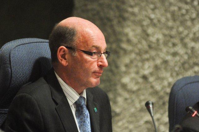 Le maire de Trois-Rivières Yves Lévesque.... (Photo: Émilie O'Connor)