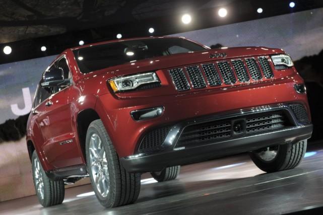 Le Salon de l'auto de Detroit est une image fidèle du marché automobile... (Photo AFP)
