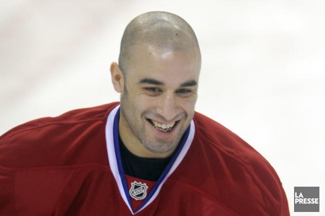 Scott Gomez est un ancien joueur du Canadien.... (Photo: Bernard Brault, archives La Presse)