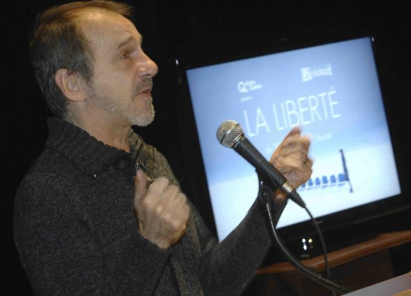 Benoit Lagrandeur, du Théâtre La Rubrique, affirme que... ((Photo Michel Tremblay))