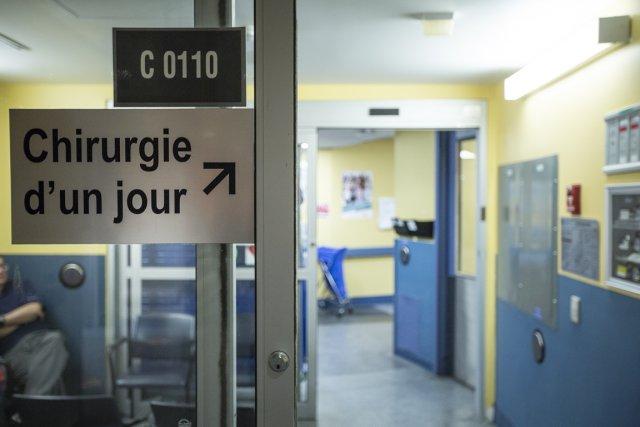 La moitié des urgences montréalaises affichent toujours un... (Photo Olivier Pontbriand, La Presse)