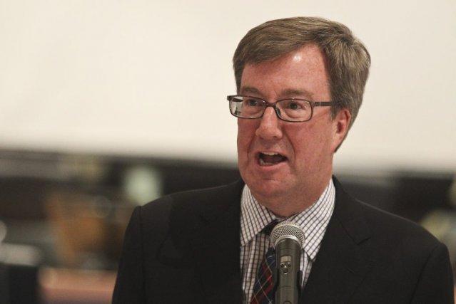 Le maire Watson a consacré une bonne partie... (Patrick Woodbury, LeDroit)