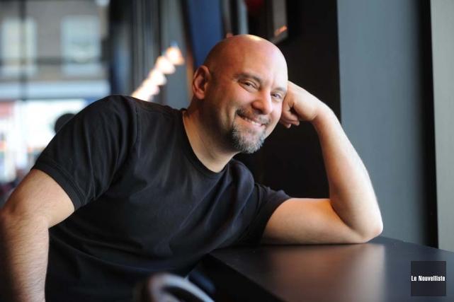 Martin Levac personnifie Phil Collins. Il sera au... (Photothèque Le Nouvelliste)