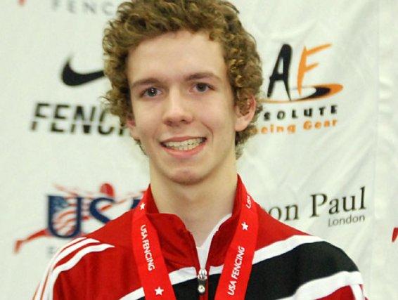 Philippe Heidecker, de Gatineau, médaillé de bronze à... (Courtoisie, US Fencing Association)