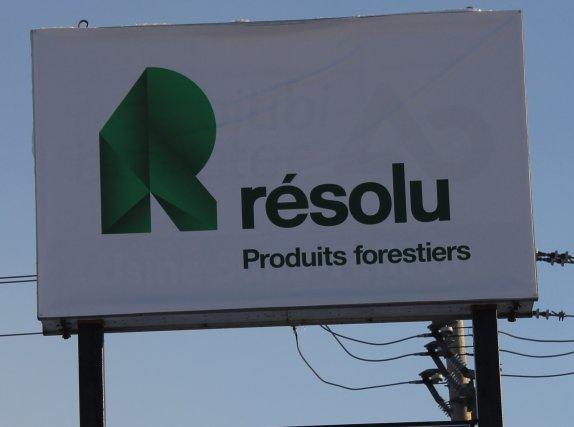 Les retraités de Produits forestiers Résolu (PFR) auront droit aujourd'hui à... (Photo Louis Potvin)