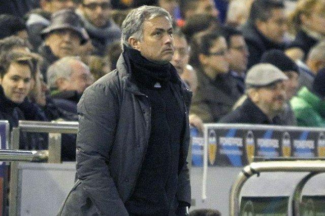 L'entraîneur du Real Madrid, Jose Mourinho.... (Photo archives Reuters)