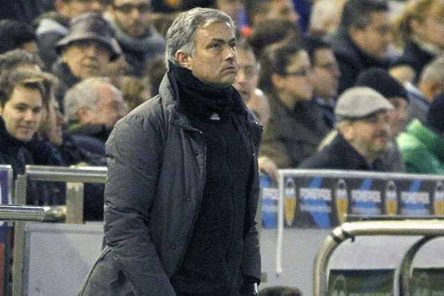 José Mourinho... (Photo archives Reuters)