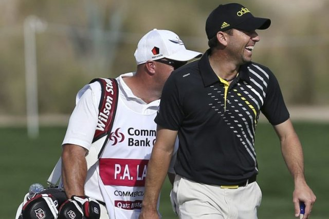 Sergio Garcia... (Photo AFP)
