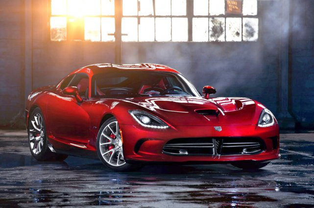 La SRT Viper 2013.... (Photo fournie par SRT)