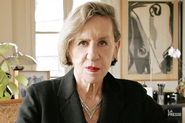 Andrée Putman est décédée à l'âge de 87... (AFP)