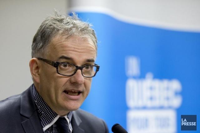 M. Hébert a été très clair: l'idée est... (Alain Roberge, Archives La Presse)