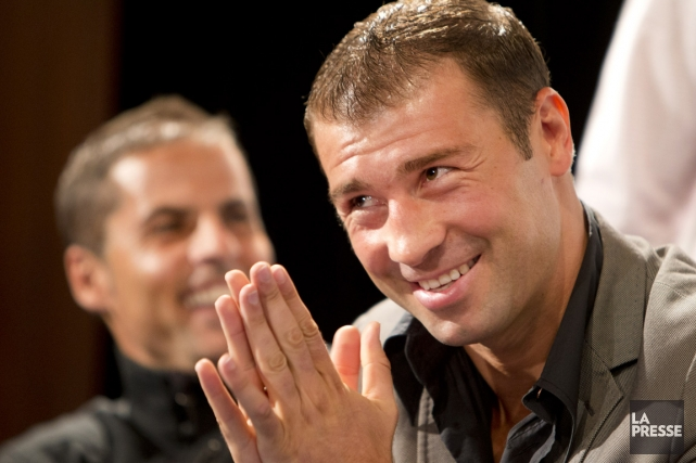 Lucian Bute... (Photo Robert Skinner, La Presse)