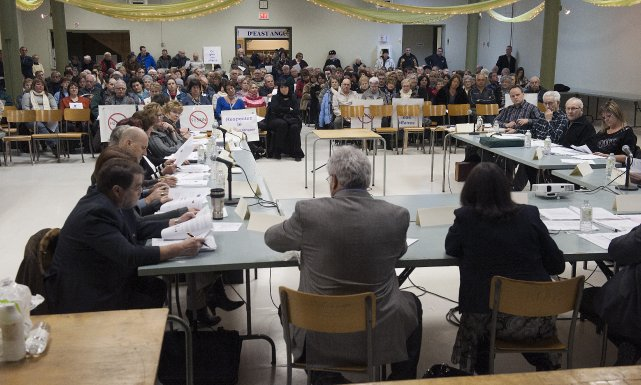 La plus récente décision du conseil d'administration du Centre de santé et des... (Imacom, Claude Poulin)