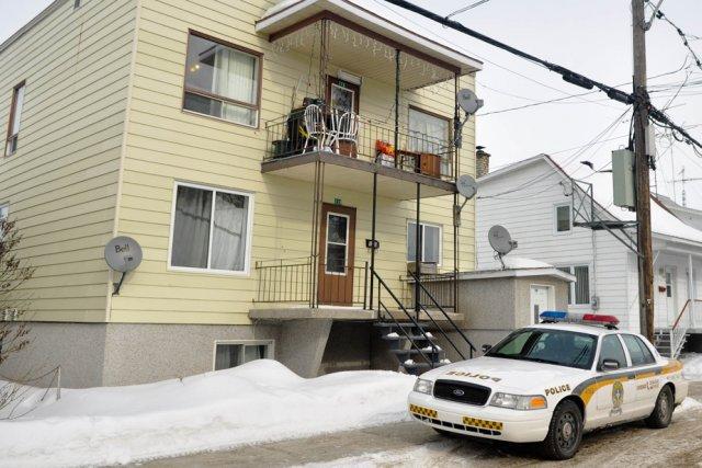 La Sûreté du Québec a mené une perquisition... (Photo: Émilie O'Connor)