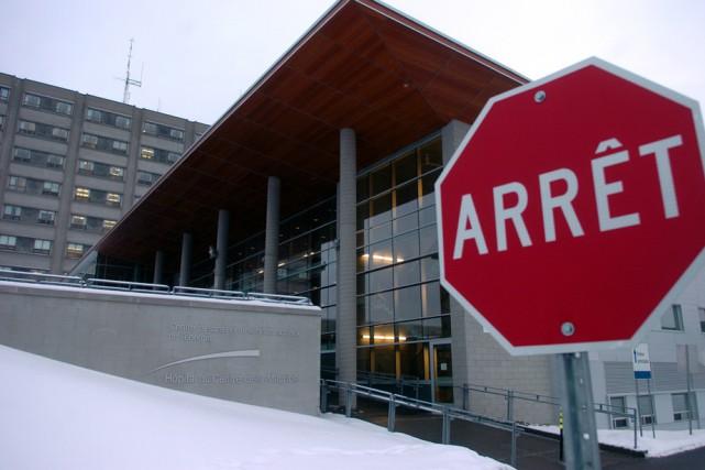 L'hôpital du Centre-de-la-Mauricie.... (Photo: François Gervais)