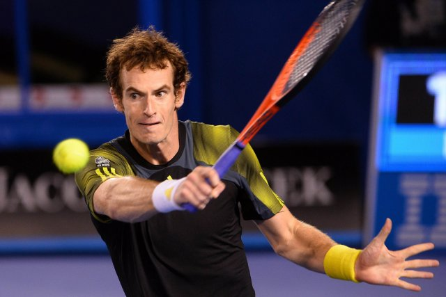 Andy Murray pourrait devenir le premier joueur de... (Photo: AFP)