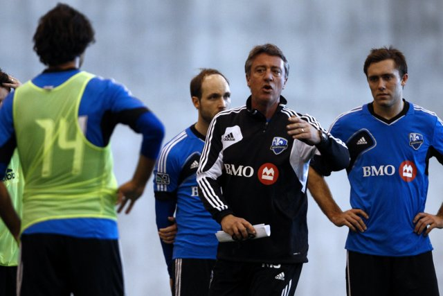 Marco Schällibaum, entraîneur-chef de l'Impact, devra apporter des... (Photo: Olivier Jean, La Presse)