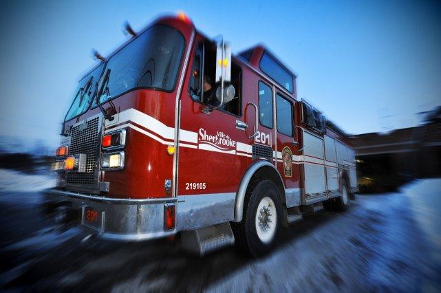 Les incendies de maison se multiplient dans le secteur de Sherbrooke. Un  feu a... (Archives La Tribune)