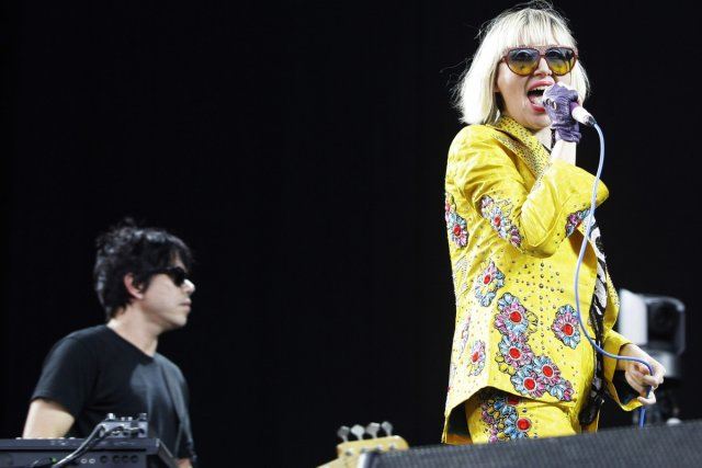 Le groupe Yeah Yeah Yeahs... (Photo: AP)