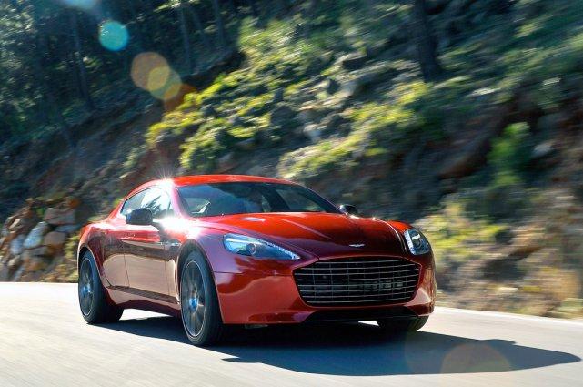 L'Aston Martin Rapide S.... (Photo fournie par Aston Martin)