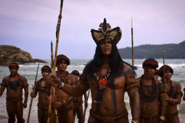 Scène du téléfilm Rouge Brésil, de Sylvain Archambault,... (Photo: fournie par la production)