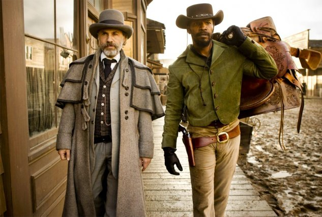 Christoph Waltz et Jamie Foxx dans Django Unchained... (Photo: archives AP)